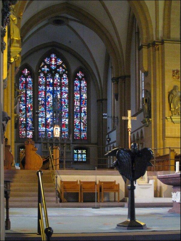 Алтарь Кафедрального собора Падерборна