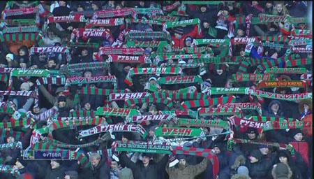 Футбол. Рубин (Россия) - Хапоэль (Израиль)Лига Европы 2009-10 / 1/16 финала