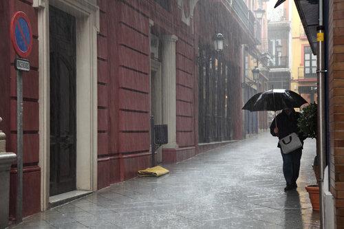 В Севилье дожди