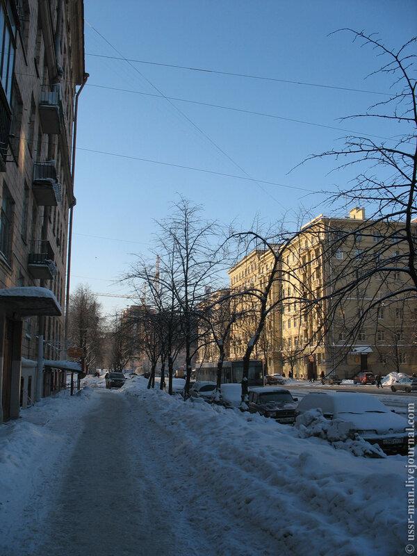Авиационная улица