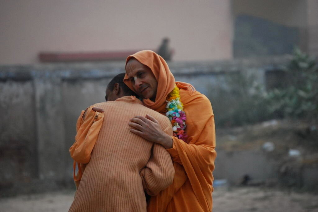 Махарадж Его святейшество Шрила Радханатха Свами в Индии