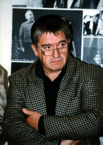 Ученик Григория Конского - актер театра и кино, народный артист России Михаил Филиппов (выпуск 1973 г.)
