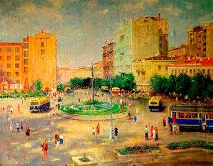 Площа Сталіна у Києві. 1949