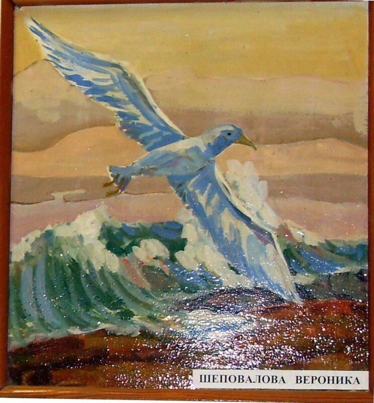 Картины юных ахтарских художников (9)
