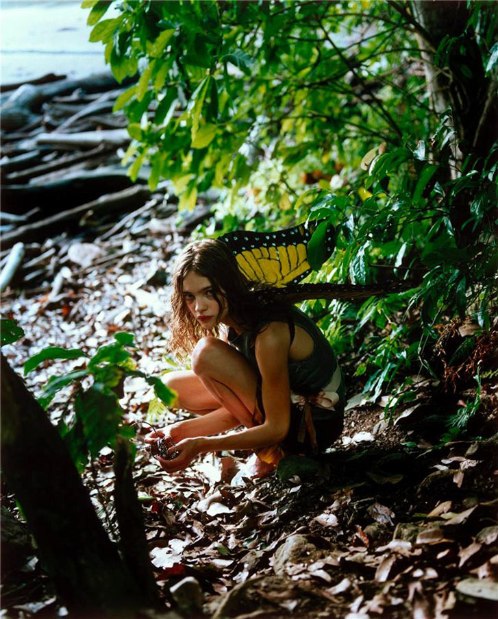 Наталья Водянова / Natalia Vodianova by Carter Smith / W magazine 2002