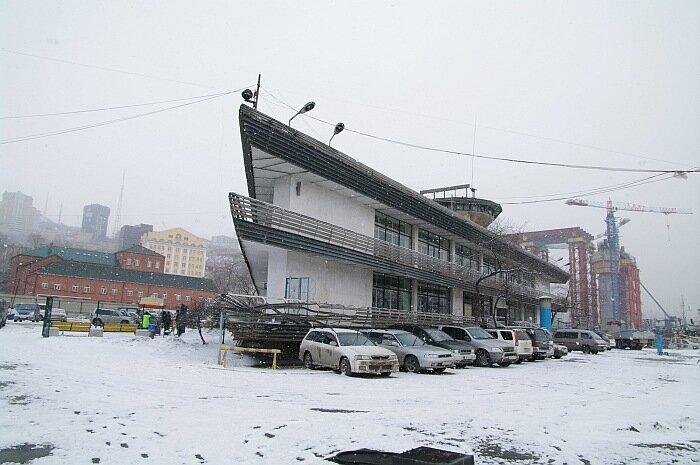 Вокзал прибрежных сообщений во Владивостоке
