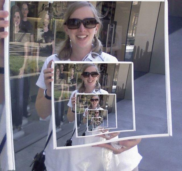фотки с Droste Effect