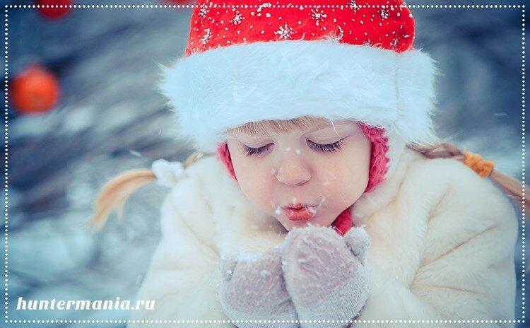 Как одеть ребёнка зимой?