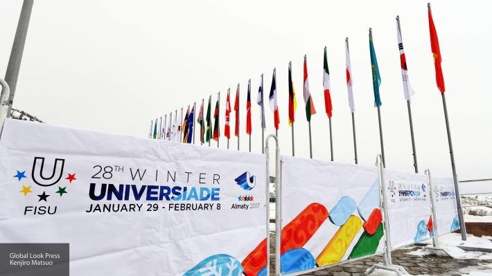 Путин объявил благодарность членам сборной Российской Федерации, выступавшей наУниверсиаде вКазахстане