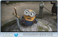 Миньоны / Minions (2015) | UltraHD 4K 2160p