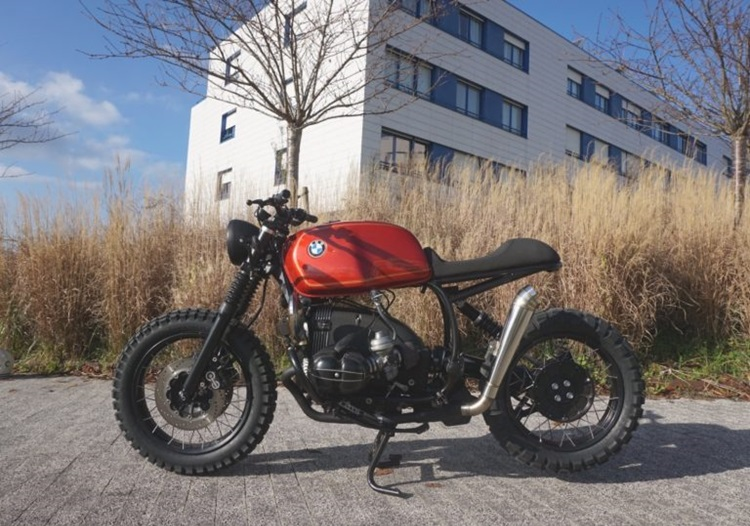 Cafe Racer SSpirit: скрэмблер BMW R100R