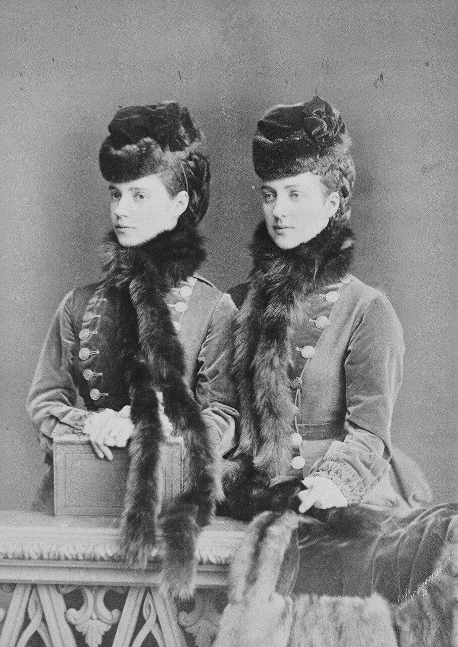 1875-1879. Александра Датская и цесаревна Мария Фёдоровна