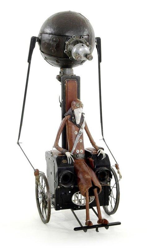 Забавные скульптуры от Stephane Halleux