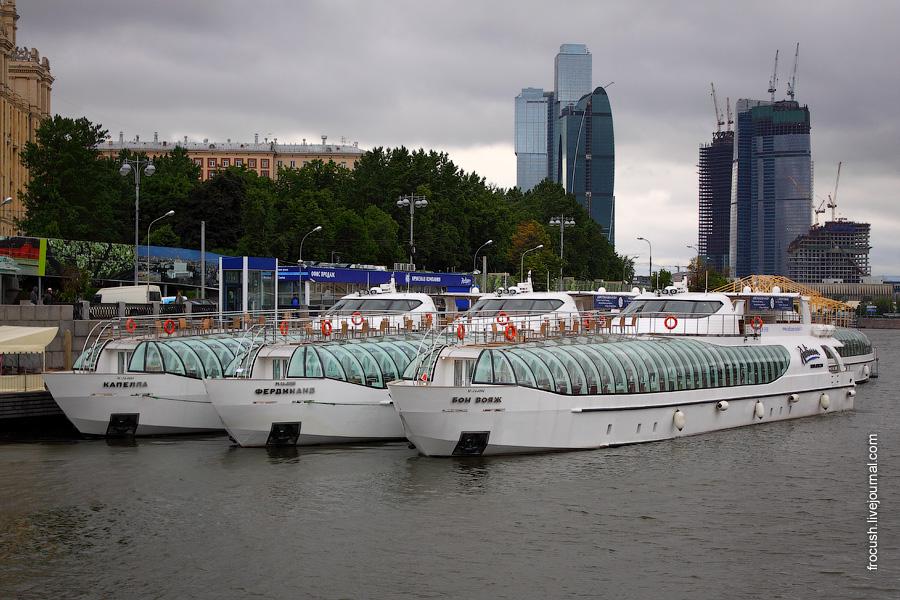 Яхты-рестораны: «Капелла», «Фердинанд», «Бон вояж».