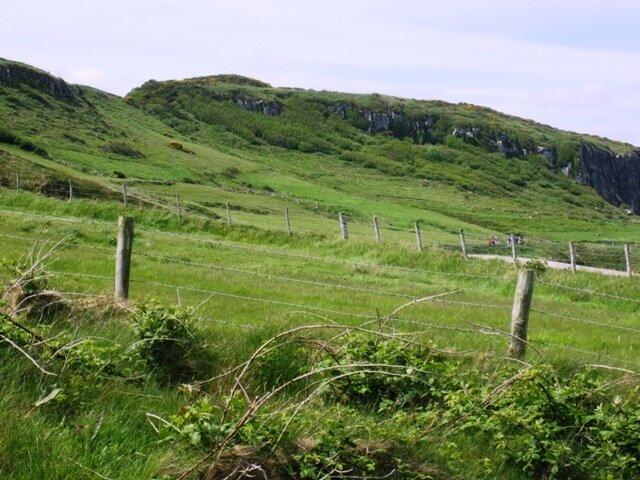 Ирландия Северная, утилизация колючей проволоки