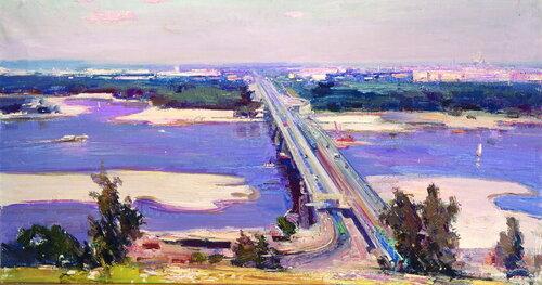 Мост метро. Киев