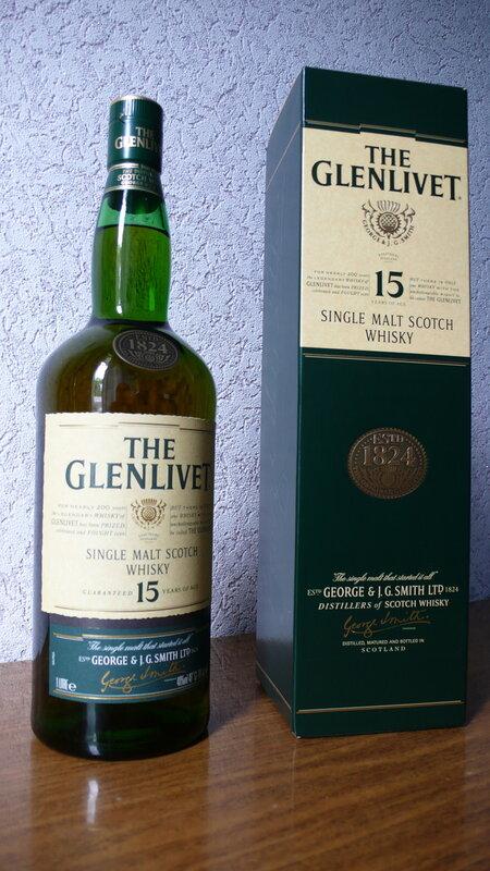 The Glenlivet 15yo.