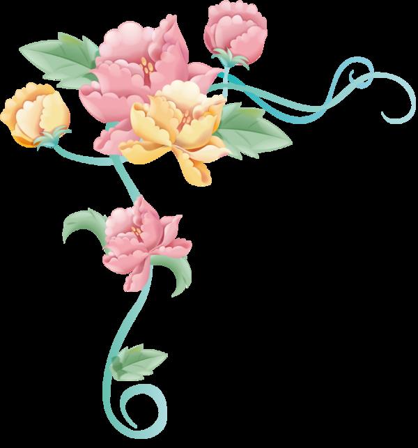 Детские картинки цветы для оформления 6