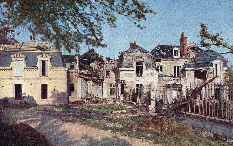 1915 Hans Hildenbrand Brimont Castle.jpg