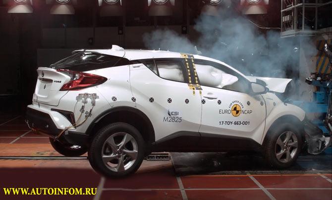 Новый краш тест автомобилей 2017