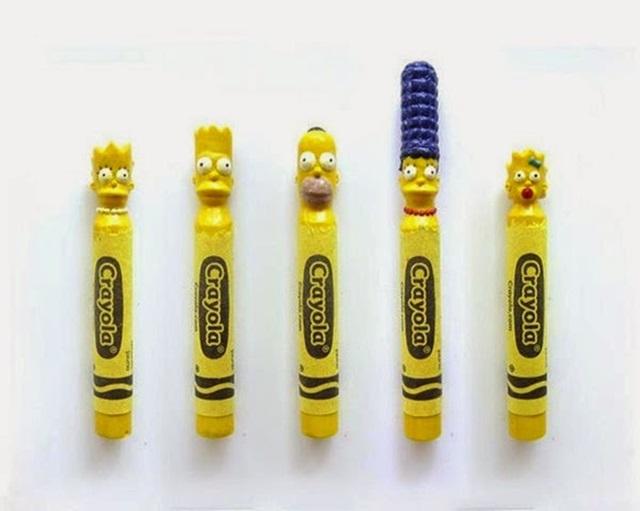 Известные персонажи, вырезанные на кончике карандашей 0 12d0fc baa44d1a orig