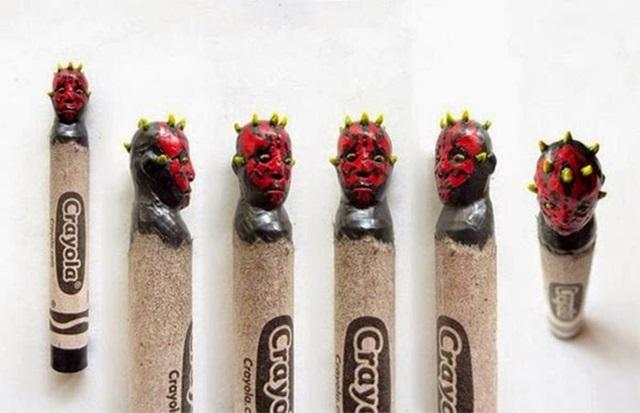 Известные персонажи, вырезанные на кончике карандашей 0 12d0ff 8fac1af4 orig