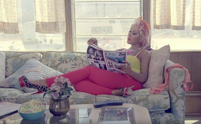 Кристина Агилера, Christina Aguilera — Your Body (Твоё тело, видеоклип)