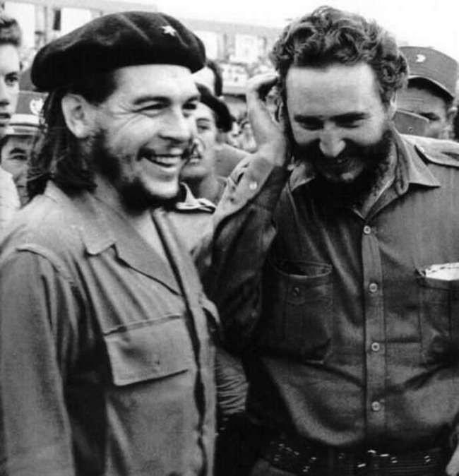 Че Гевара и Фидель Кастро.