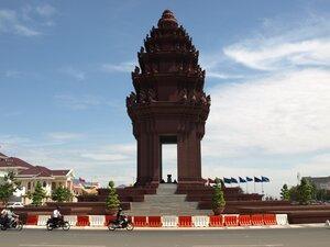 Площадь Победы или что-то вроде того в Пном Пене