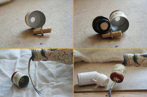 Сделать основу для лампы