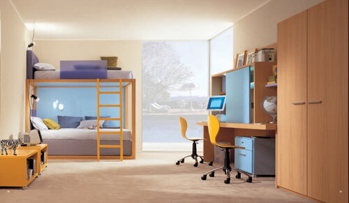 детские от Икеа комната для двоих детей