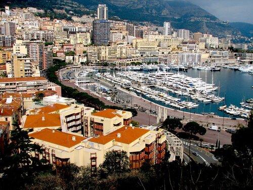 Трасса формула 1 Монако
