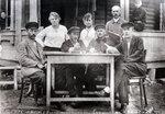 Президиум Союза текстильщиков Гучковского района, 1920-е годы