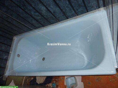 Эмалировка ванн г. Москва, 3й просп. Новогиреево - 11 после