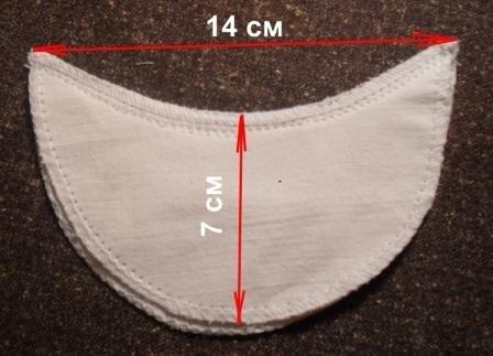 Как сделать прокладки для подмышек своими руками
