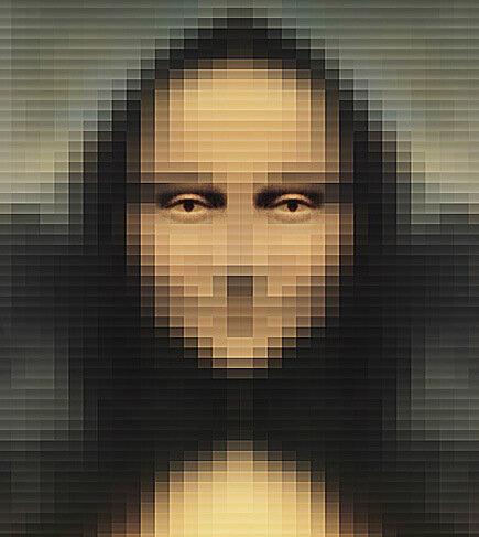 Мона — пиксел