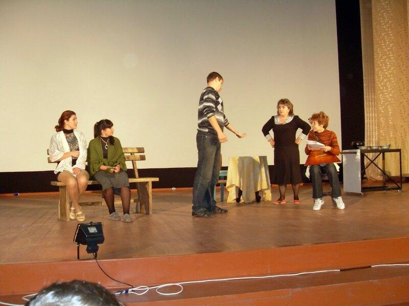 Сцена, репетиция ... SDC15312