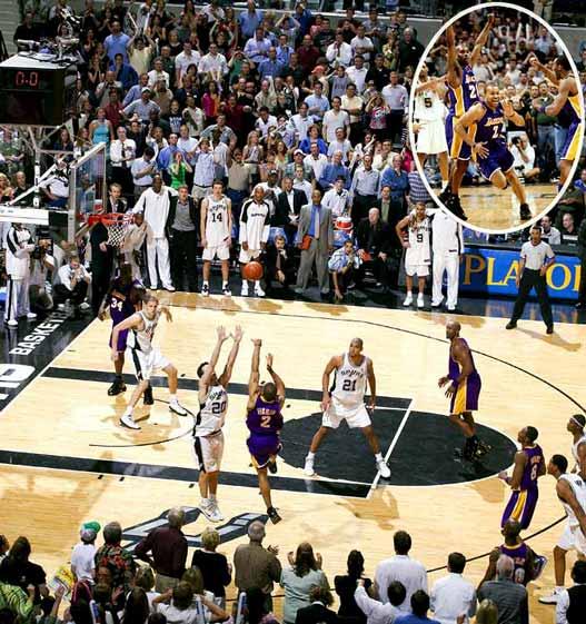 2000s Top 10 NBA Games - Lakers - Spurs 74-73 / 5-я игра 2-го раунда плей-офф 2004