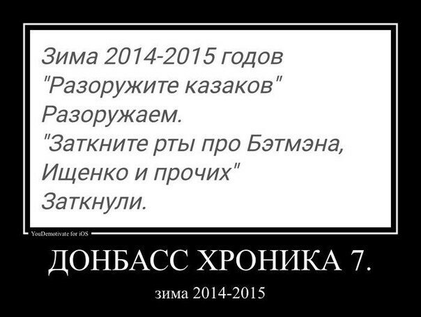 Донбасс Хроника 7. Зима 2014-2015