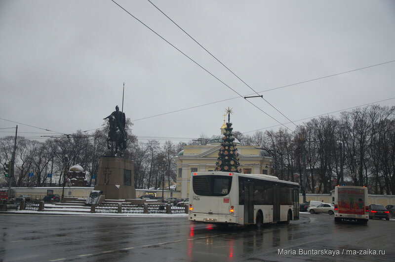 Государственный музей городской скульптуры, Санкт-Петербург, 16 декабря 2015 года