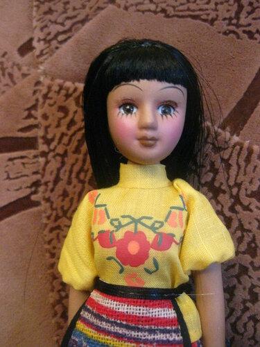 Куклы в Костюмах Народов Мира №53 - Гватемала