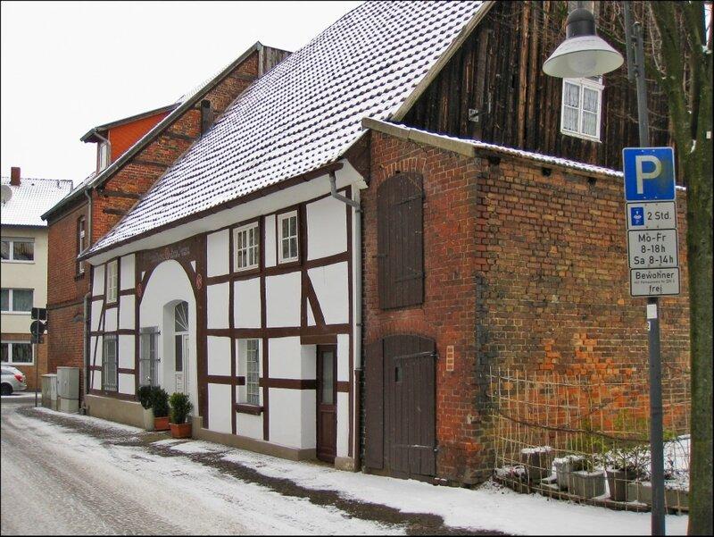 Старый дом в Нойхаузе