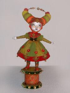 Авторская кукла ручной работы