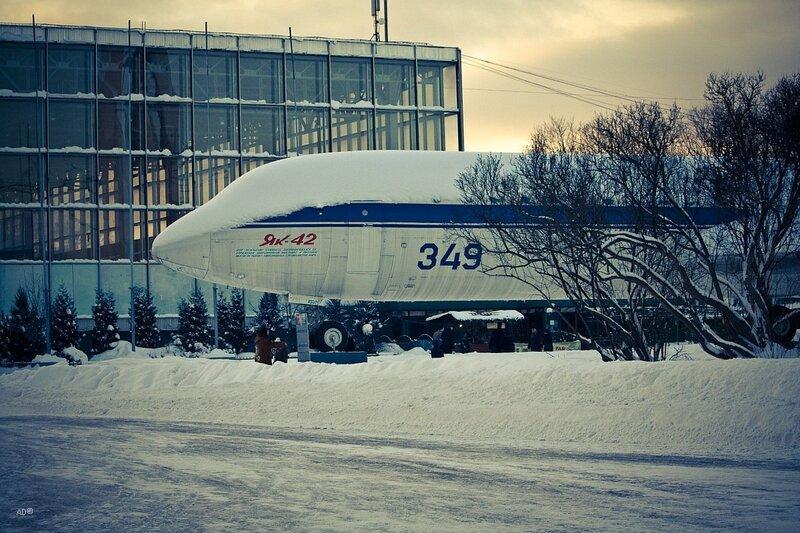 Самолёт Як-42 – среднемагистральный трёхдвигательный самолёт