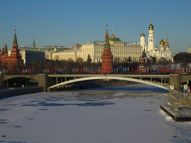 Москва - 24 февраля 2007 - с Патриаршего моста