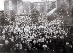 1917 год. Митинг около казармы