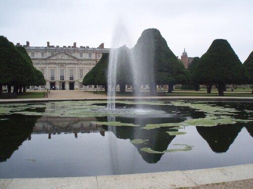 Фонтанный Сад Дворца Хэмптон Корт