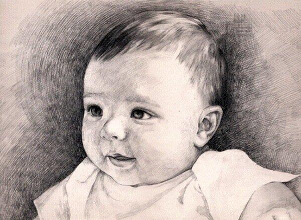 рисунки карандашом беременных: