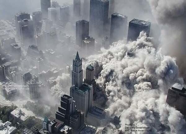 Неопубликованные ранее фото теракта 11 сентября
