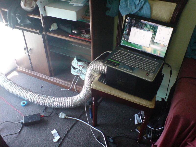 Системы охлаждения для ноутбуков своими руками